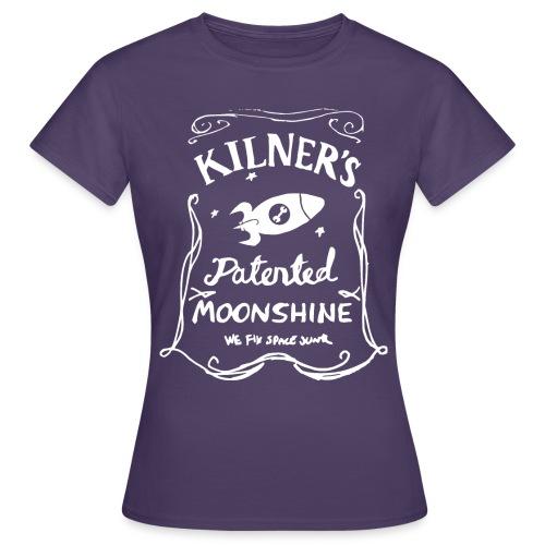 Kilner's Patented Moonshine (White) - Women's T-Shirt