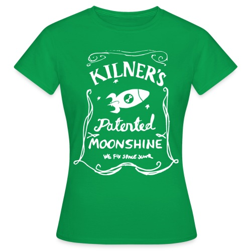 Kilner's Patented Moonshine (White) - Women's T-Shirt