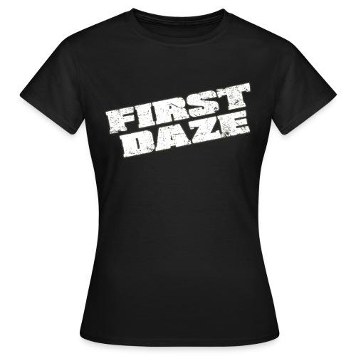 schriftzug transparent - Frauen T-Shirt