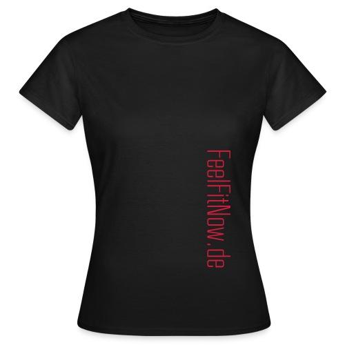 feelfit schriftzug - Frauen T-Shirt