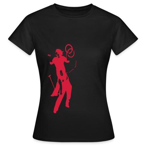 Logo LES TROUBADOURS - T-shirt Femme