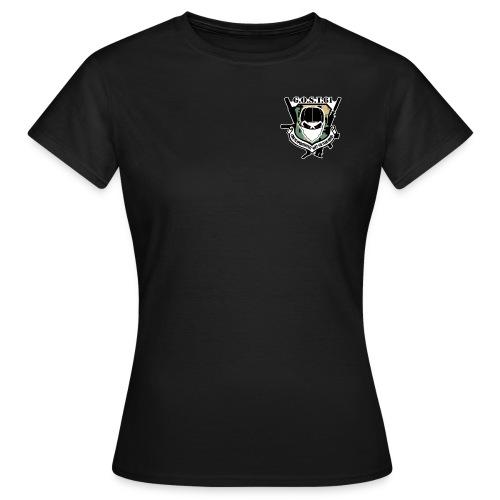 logo-complet-quadri - T-shirt Femme