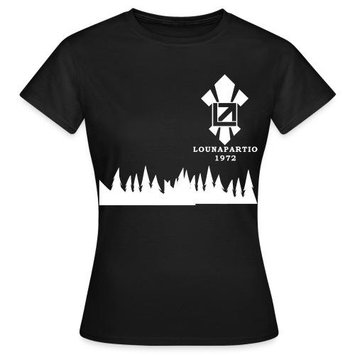louvaatelogo - Naisten t-paita