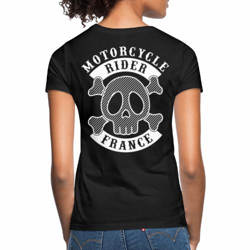 Motorcycle Rider France - T-shirt Femme