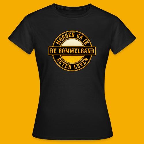 Logo Zwart Geel 2 - Vrouwen T-shirt