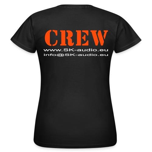 skaudio crew hintenkurve - Frauen T-Shirt