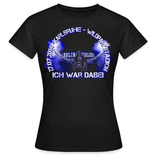 dabeifrontendversionneub - Frauen T-Shirt