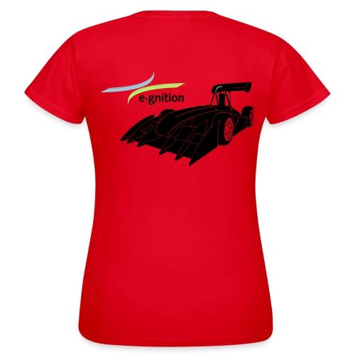 egn Auto schwarz farb log - Frauen T-Shirt