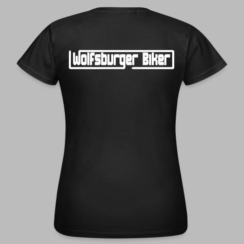 Wolfsburger Biker Schriftzug - Frauen T-Shirt