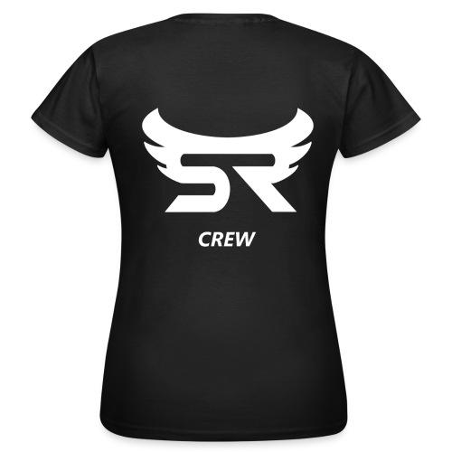 logohdplusplus crewklein weiß png - Frauen T-Shirt