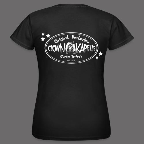 clown back 1 - Frauen T-Shirt
