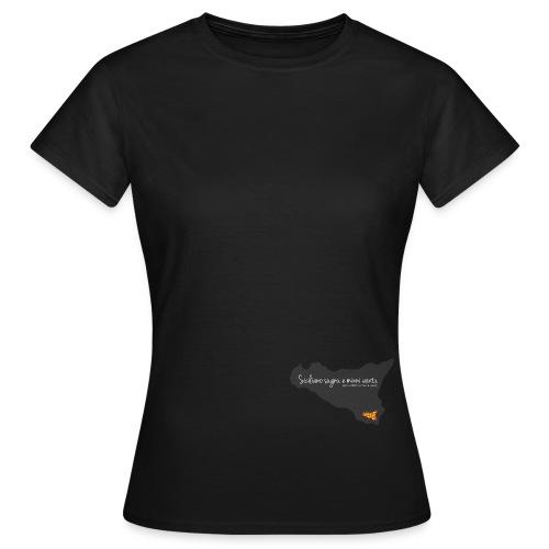fiero di essere siciliano - Maglietta da donna
