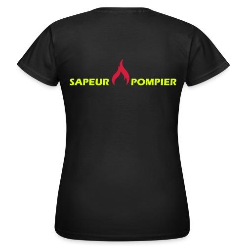 sapeur-pompier - T-shirt Femme