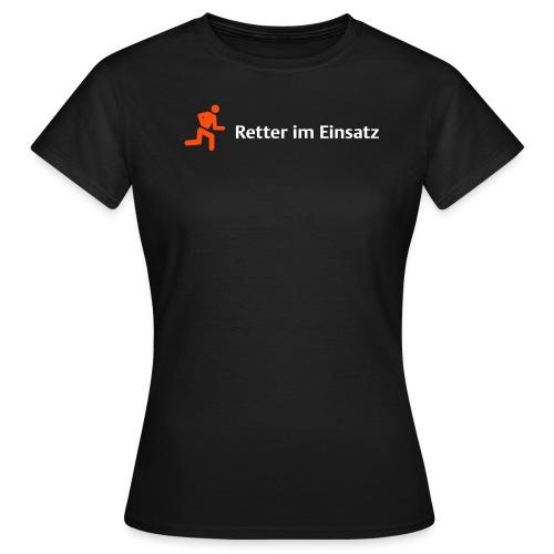 retter orange - Frauen T-Shirt