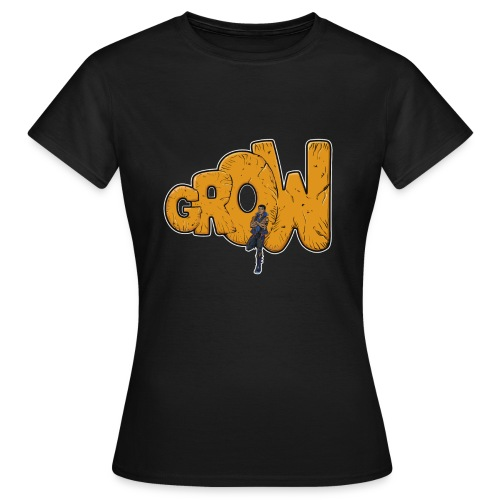 Final grow shirt black - Women's T-Shirt