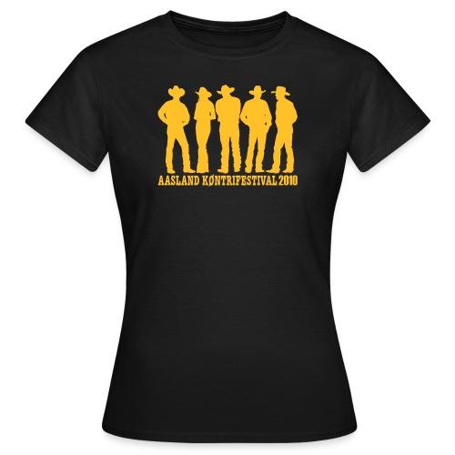 akf tshirt 2010 - T-skjorte for kvinner
