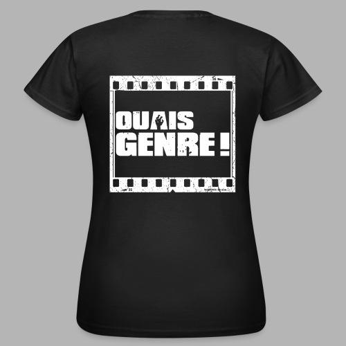 Ouais Genre Movie White png - T-shirt Femme