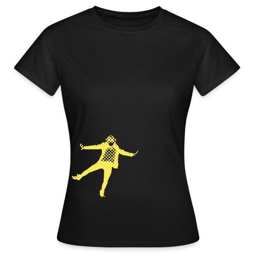 Perso Jaune png - T-shirt Femme