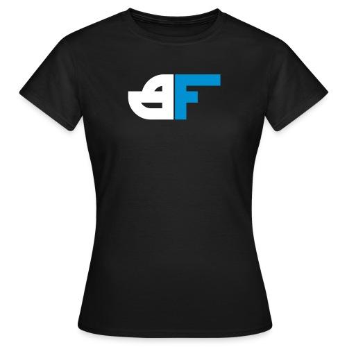 Big Flexx Logo white turquoise - Frauen T-Shirt