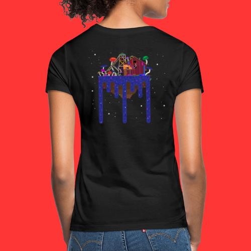 Building on a Mushroom filled island. - Vrouwen T-shirt