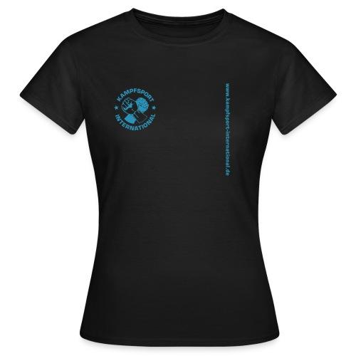 kiwebsite - Frauen T-Shirt