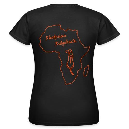 logo afria 4 - Frauen T-Shirt