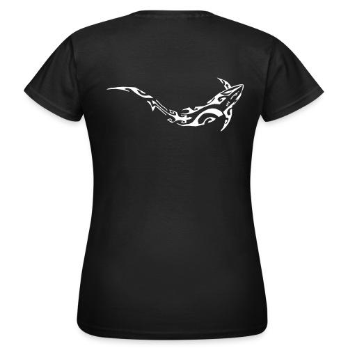logo divein w - T-shirt Femme