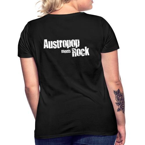 Austropop meets Rock classic back - Frauen T-Shirt