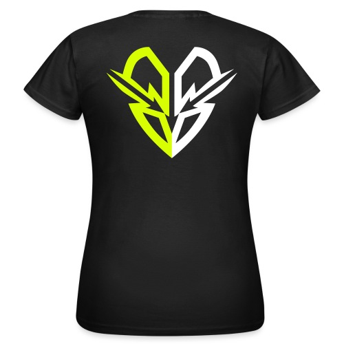 Raveolution Heart - Frauen T-Shirt