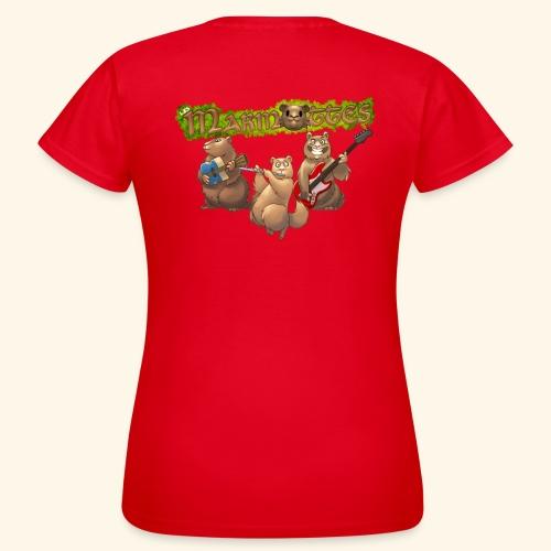 Tshirt groupe dos - T-shirt Femme