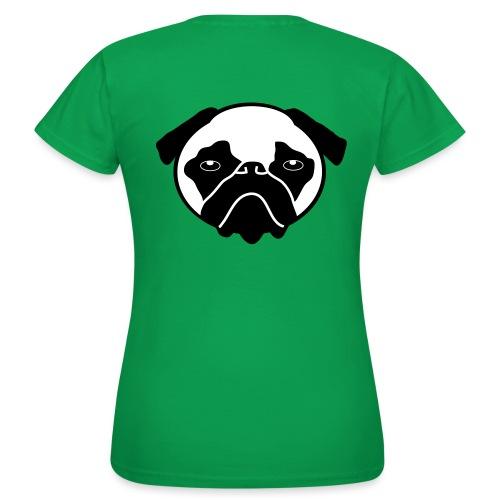 Mops, Hund - Frauen T-Shirt