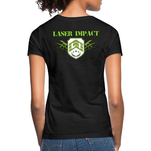 Laser Impact Store - T-shirt Femme