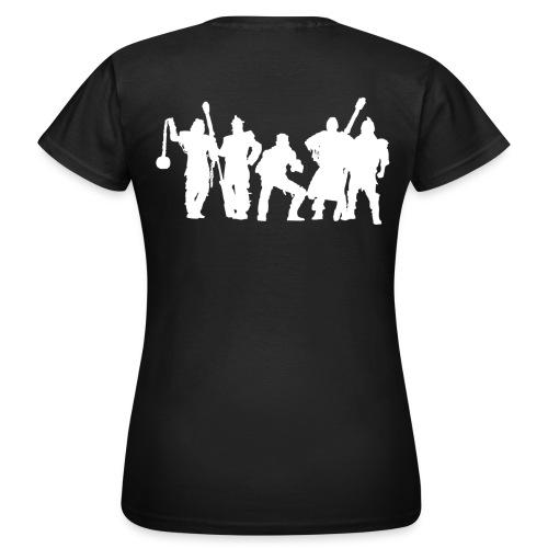 Jugger Schattenspieler weiss - Frauen T-Shirt
