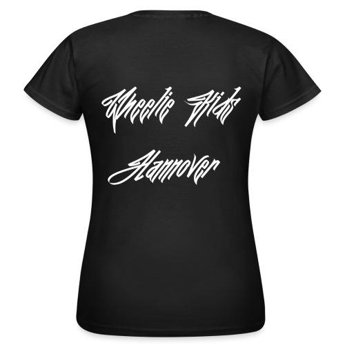 Name Weiß - Frauen T-Shirt
