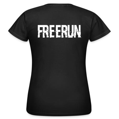 logo freerun - T-shirt Femme