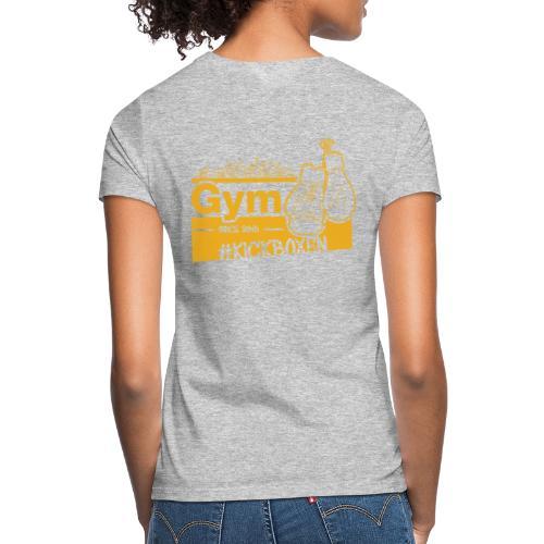 Gym Druckfarbe Orange - Frauen T-Shirt