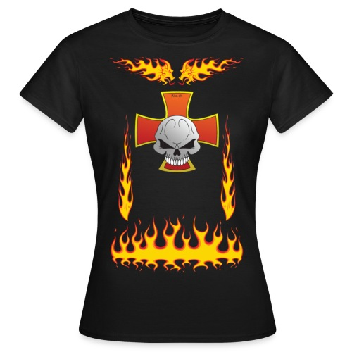 FireDragon Chopper - Women's T-Shirt