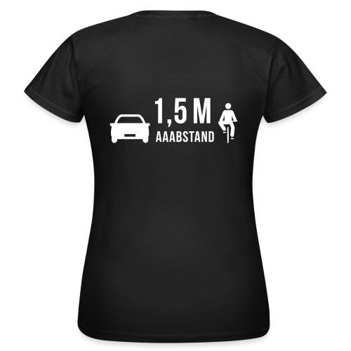 1,5 m Aaabstand - Frauen T-Shirt
