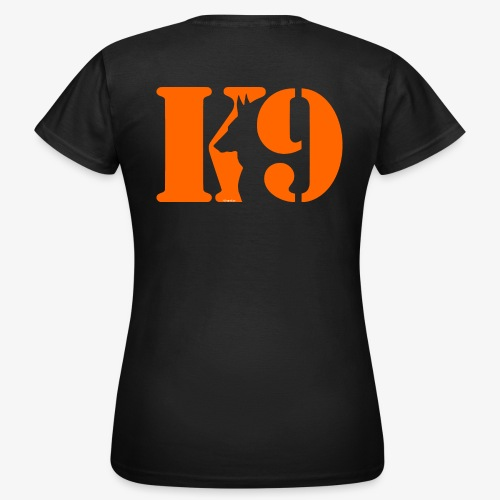 K9 CARDI ORANGE LOGO - Women's T-Shirt