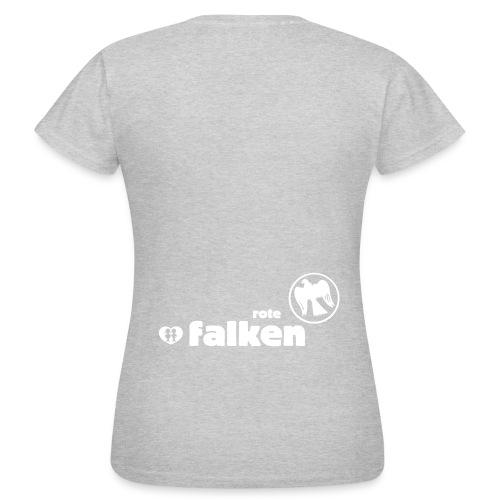 RF Logo Schriftzug schwarz - Frauen T-Shirt