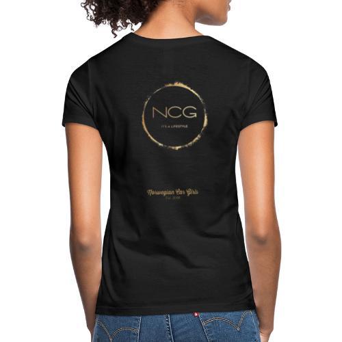 Norwegian Car Girls - T-skjorte for kvinner