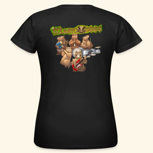 Tshirt groupe complet (dos) - T-shirt Femme