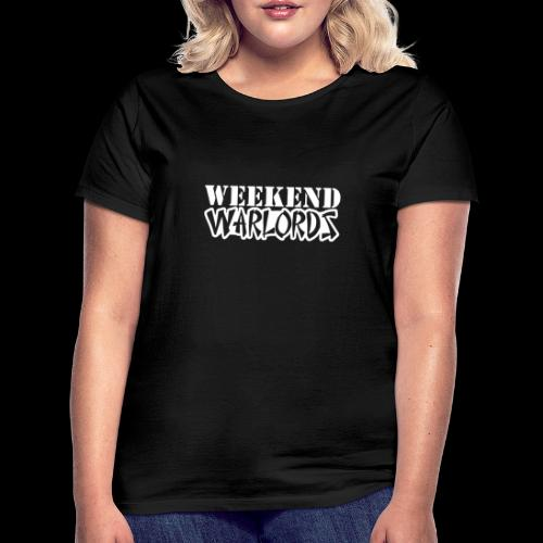 WEEKEND WARLORDS_WHITE on - Women's T-Shirt