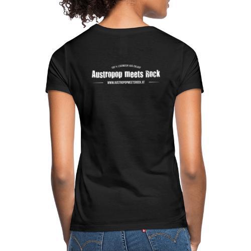 AMR Logo vintage back - Frauen T-Shirt