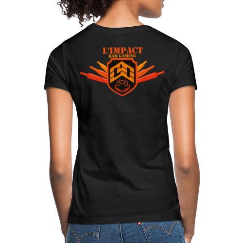 Impact Bar Gaming Store - T-shirt Femme