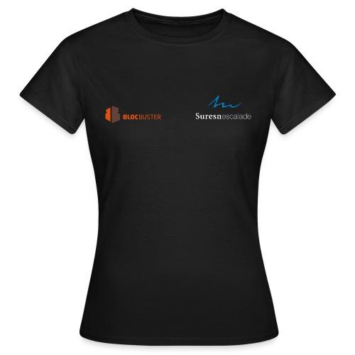 logo suresnes escalade blanc - T-shirt Femme