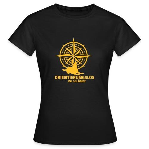 Orientierungslos Kompass - Frauen T-Shirt