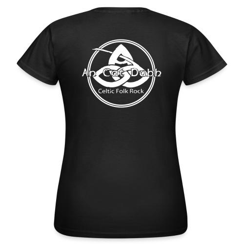 ancatdubh vektorlogo - Frauen T-Shirt