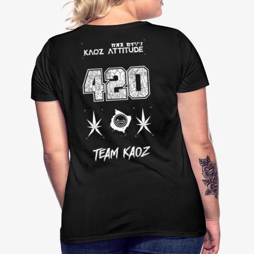 // Team Kaoz 420 Football Shirt - Frauen T-Shirt