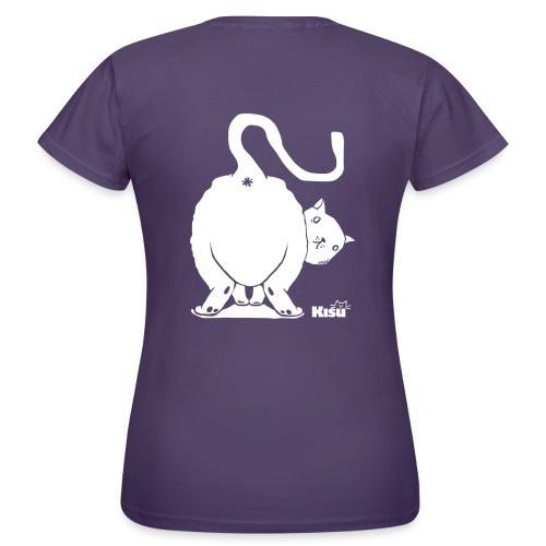 pyllykissa valkoinen - Naisten t-paita